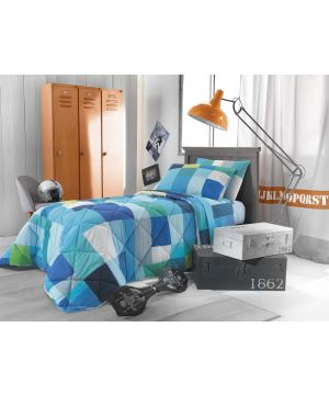 BED SHEET SET POLICROMIA 200X290